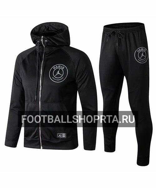 Спортивный костюм AIR JORDAN X PSG с капюшоном - 2018/19
