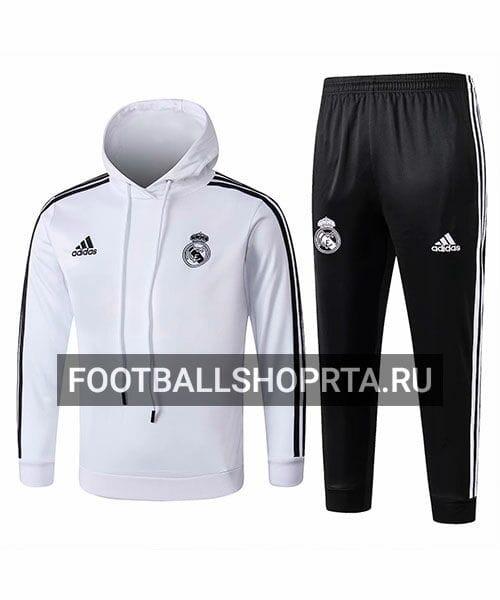 Детский костюм Реал Мадрид с капюшоном - спортивный